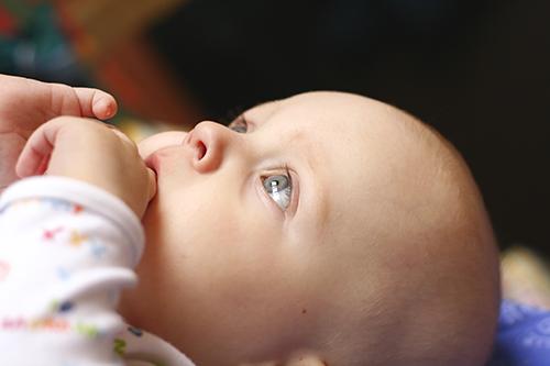 El cráneo del bebé