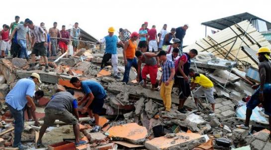 carta de las hermanas en ecuador tras el terremoto