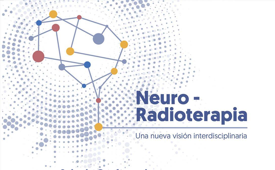 Cartel de las jornadas de Neuro-radioterapia
