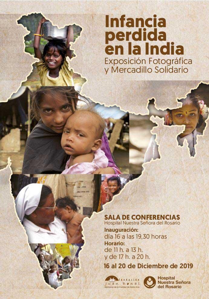 Infancia perdida en la India